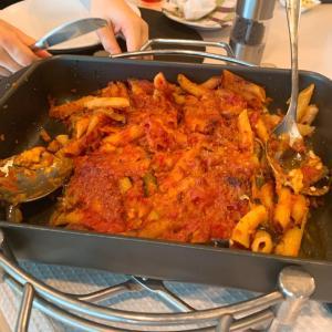 ⭐️ラクッチーナサッチ 9月イタリア料理教室 野菜たっぷりの焼きパスタ
