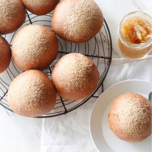 ⭐️食物繊維たっぷりホワホワふすまパンの作り方
