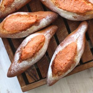 ⭐️基本の明太子パン作り方ご紹介してます。