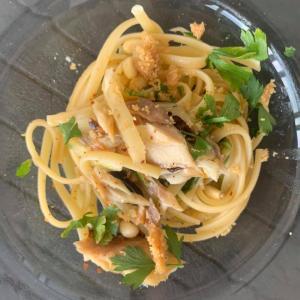 ⭐️料理教室スタート 干物をイタリアンにしてみました
