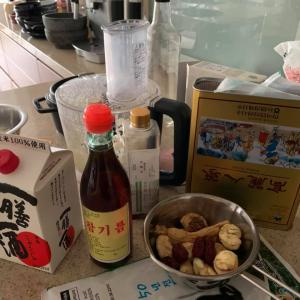 ⭐️ラクッチーナサッチスペシャル韓国料理レッスン風景