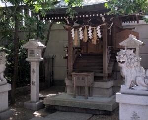 難波神社の摂末社