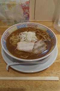 麺匠 胡桃(松本市桐) あっさり煮干し醤油ラーメン