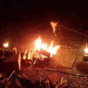 2011年11月下旬 和歌山県竹房橋周辺でソロキャンプ