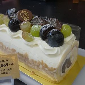 人気の『ぶどうのロールケーキ♪』を販売してるよー!!の巻