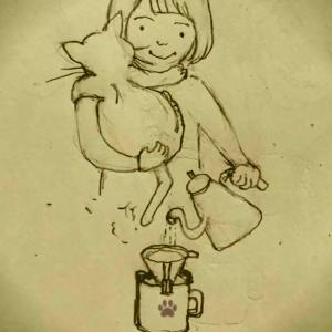 コーヒー抱っこ