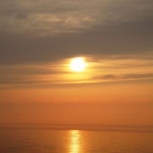 11年前の夕日