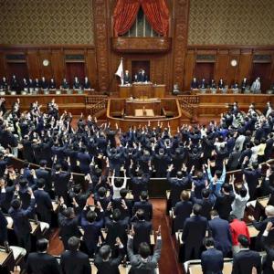 衆議院解散の英語