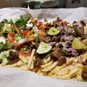 サンディエゴの思い出の味「Carne Asada fries 」