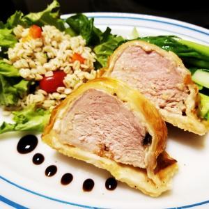 豚ヒレ肉のパイ包み焼き & ヒレカツ