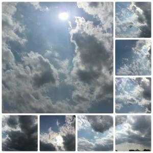 過去最多 180人超 💦(きょうの空と雲と。。。)