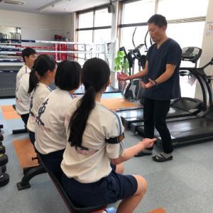 今年も新居浜東高等学校 健康・スポーツコースの生徒さんが会社見学に来られました♪