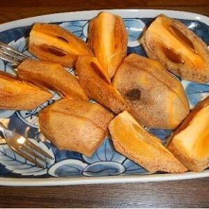 秋の珍宝柿(筆柿)販売が漁協鮎の姿勢とダブった