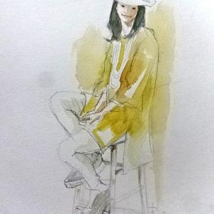 ファッション誌で人物画のレッスン