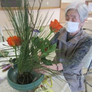 生花クラブ お正月花!