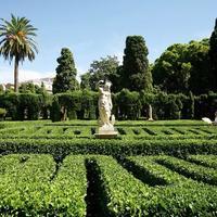 バレンシア市内の穴場モンフォルテ庭園