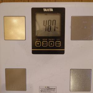 2021.06.22 今日の体重 昨日分06.21も