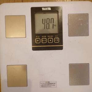 2021.06.24と06.25の体重