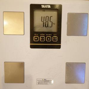 2021.07.25の体重  夏太り、始まりそうです。