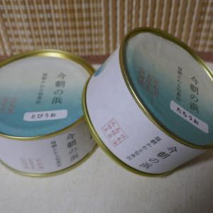 今朝かわる旬魚の缶詰『今朝の浜』☆日本海の島根県浜田港から無印良品♪
