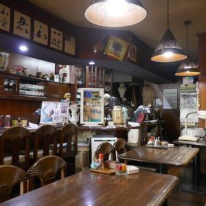 素敵な照明の古い喫茶店のモーニング☆MOON☆大阪市阿倍野区♪