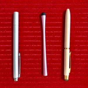 動画編集に便利なペン、比べてみました。