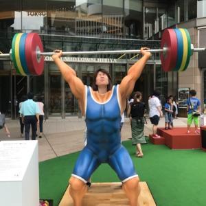 オリンピック選手のすごさを体感できるイベントです。