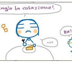 くちゃくちゃ漫画 ダメ両親:朝ごはん  Mangaccia Genitori bocciati: Colazione!