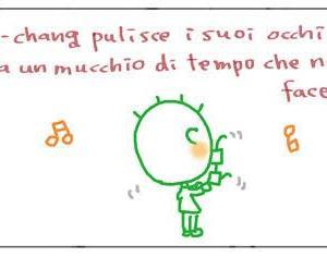 くちゃくちゃ漫画 ダメ両親:ジョバちゃんのメガネ  Mangaccia Genitori bocciati: Gli occhiali di Giova-chang