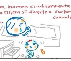 くちゃくちゃ漫画 ダメ両親:チェストの泥棒  Mangaccia Genitori bocciati: un scassinatore di comodini