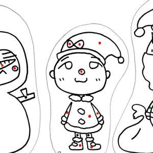 くちゃくちゃ漫画 ダメ両親:クリスマスの塗り絵  Mangaccia Genitori bocciati: Coloriamo il Mangaccia natalizia!!!