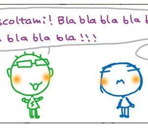 くちゃくちゃ漫画 ダメ両親:べらべらべらべらべら  Mangaccia Genitori bocciati: bla bla bla bla bla bla