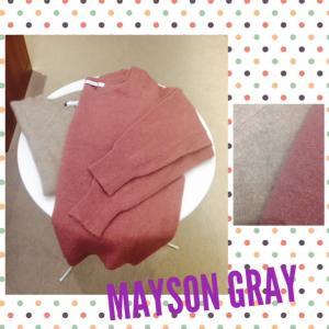 MAYSON GREY★ラクーン混優しいカラーニット★奈良ファッション・セレクトショップ マスタ
