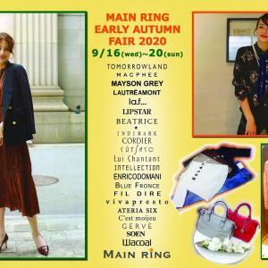 お知らせ盛りたくさんFAIR開催中★★★奈良ファッション・セレクトショップ マスターリング