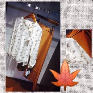 この時期の素敵なブラウスコーデ♪♪奈良ファッション・セレクトショップ マスターリング