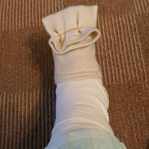 骨折日記 その7 骨折5日め 足先が寒い