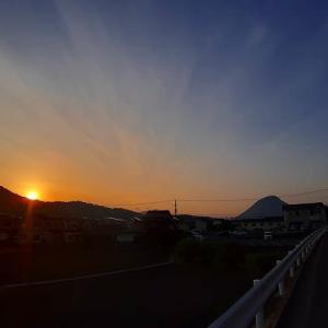 【 日の出風景 】