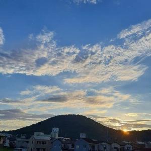 【 心地よい朝 】