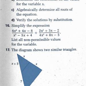 カナダの高校で習う数学って簡単?(11年生)