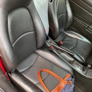 leather seat repair.