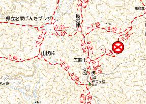 埼玉県の伊豆ケ岳へショートコースで行って来ました。