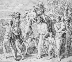 年間第25主日-年間第26主日2021「オトナのための天地創造ものがたり」: 元祖DV親ラバンの言動とヤコブの神