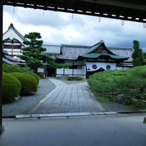 夏の京都に行きました。大覚寺