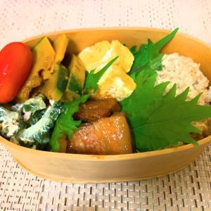 豚バラ味噌炒めのお弁当