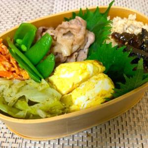 豚生姜焼き風お弁当