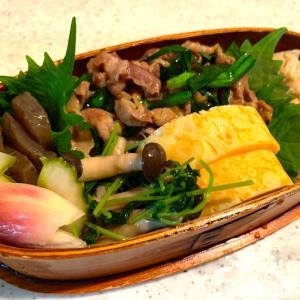 豚肉とニラの甘辛焼き弁当