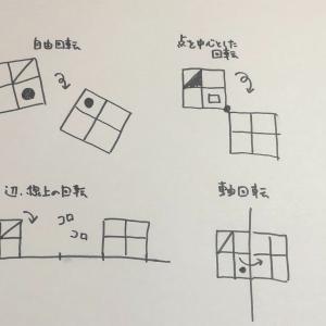 回転図形の種類の中の、軸回転の具体物を作ってみました。小学校受験