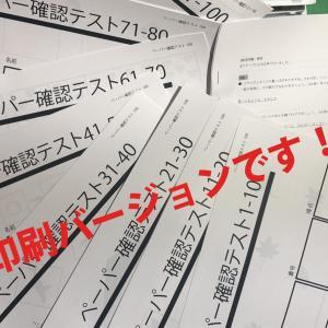 新教材発売!!新年長さん!春のペーパー100枚!!自宅でテストができます。音声つき! 小学校受験