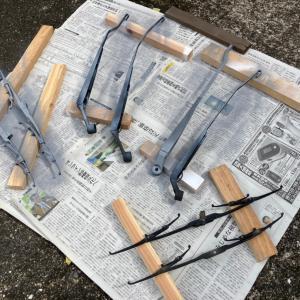 ワイパー塗装工事 薩摩鉄幹