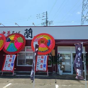 中華そば蘭「鶏と煮干しの中華そば」「のどぐろの中華そば」  山形の花やラーメンから独立